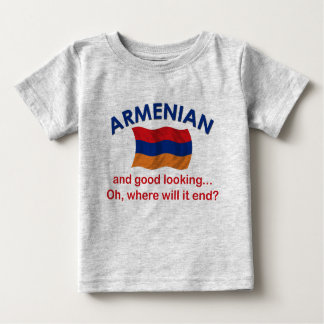 Good Looking Armenian Infant T Baby T-Shirt