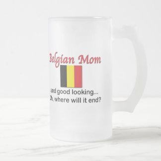 Good Looking Belgian Mom Mugs