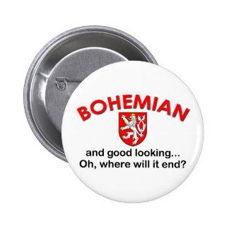 Good Looking Bohemian 6 Cm Round Badge