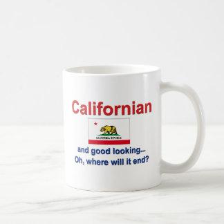 Good Looking Californian Basic White Mug