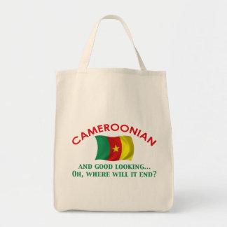 Good Looking Cameroonian Grocery Tote Bag