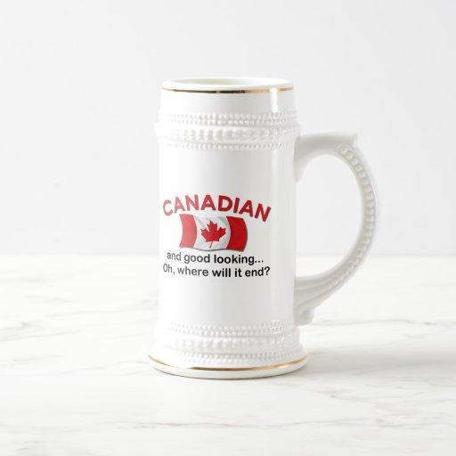 Good Looking Canadian Coffee Mug