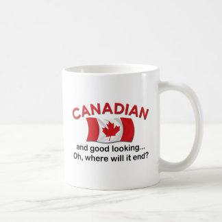 Good Looking Canadian Basic White Mug
