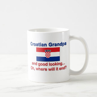 Good Looking Croatian Grandpa Coffee Mug
