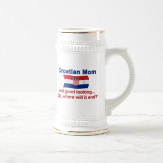 Good Looking Croatian Mom Coffee Mugs