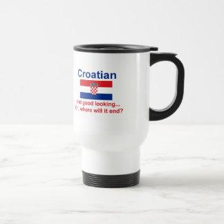 Good Looking Croatian Stainless Steel Travel Mug