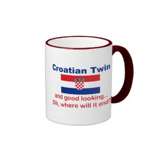 Good Looking Croatian Twin Ringer Mug