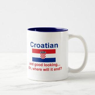 Good Looking Croatian Two-Tone Mug