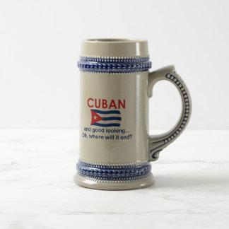 Good Looking Cuban Beer Steins