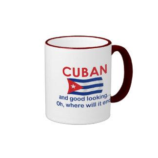 Good Looking Cuban Ringer Mug