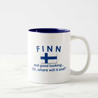 Good Looking Finn Two-Tone Coffee Mug