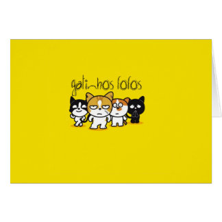 Good looking Fofos Greeting Card
