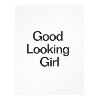 Good Looking Girl.ai 21.5 Cm X 28 Cm Flyer