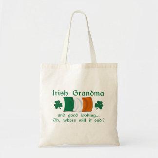 Good Looking Irish Grandma Budget Tote Bag