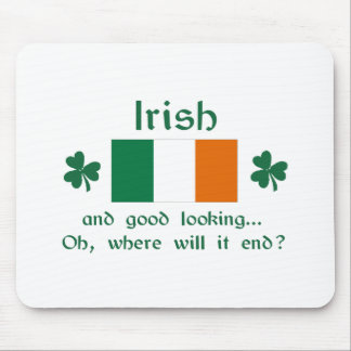 Good Looking Irish Mouse Pads