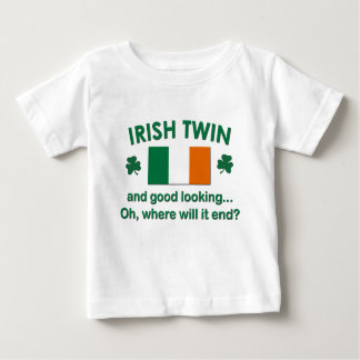Good Looking Irish Twin Baby T-Shirt