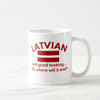 Good Looking Latvian Coffee Mug