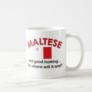 Good Looking Maltese Coffee Mug