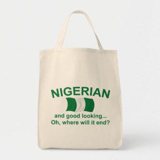Good Looking Nigerian Grocery Tote Bag