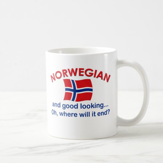Good Looking Norwegian Coffee Mug