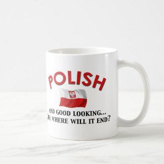 Good Looking Polish Basic White Mug