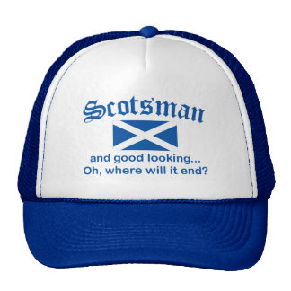 Good Looking Scotsman Trucker Hat