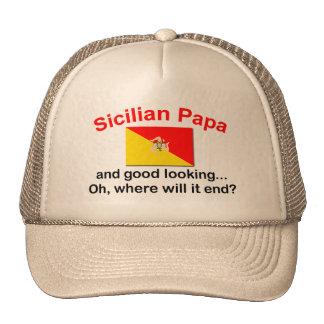 Good Looking Sicilian Papa Cap
