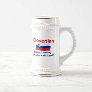 Good Looking Slovenian Beer Stein