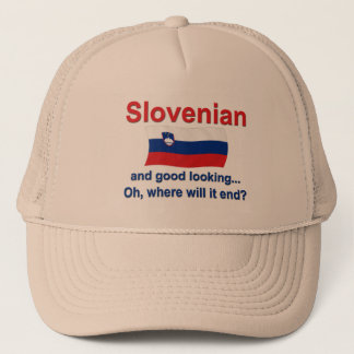 Good Looking Slovenian Trucker Hat