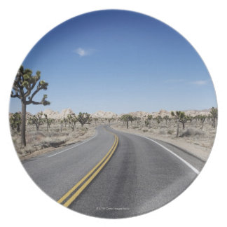 good looking street in the middle of the dessert plate