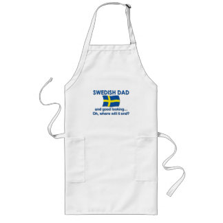 Good Looking Swedish Dad Apron