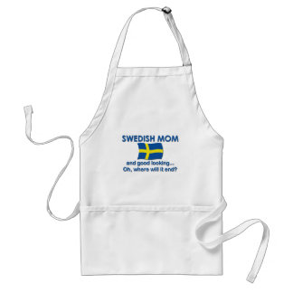 Good Looking Swedish Mom Standard Apron