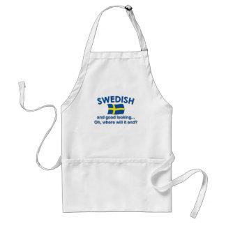Good Looking Swedish... Standard Apron