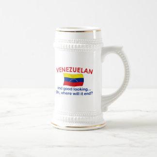 Good Looking Venezuelan Beer Stein