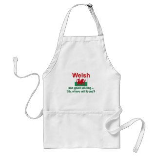 Good Looking Welsh Standard Apron