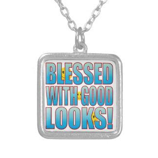 Good Looks Life B Square Pendant Necklace