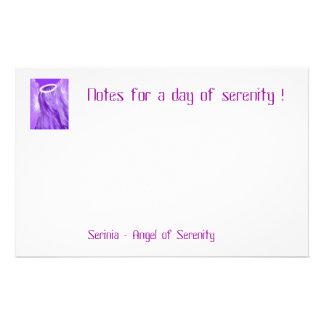 Good luck angel -Serinia angel of serenity Customised Stationery