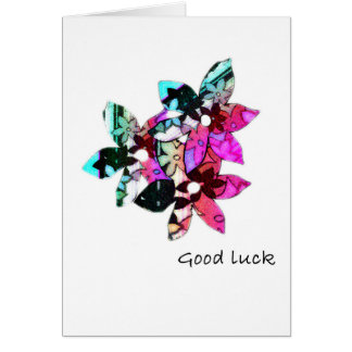 Good Luck Card - Tropical Allure