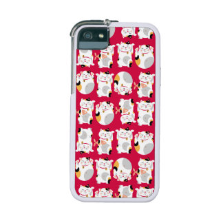 Good luck cat,chinese,feng shui,Maneki Neko,patter iPhone 5/5S Covers