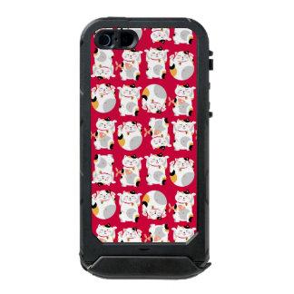 Good luck cat,chinese,feng shui,Maneki Neko,patter Incipio ATLAS ID™ iPhone 5 Case