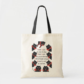 Good Luck Cats, Louis Wain Tote Bag