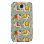 Good luck circus elephants cute elephant pattern samsung galaxy s4 cases
