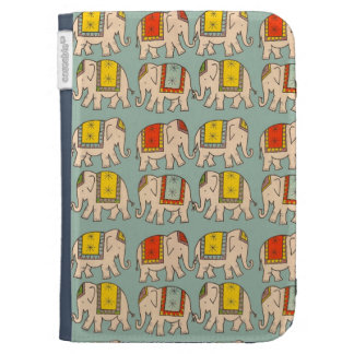 Good luck circus elephants cute elephant pattern cases for kindle