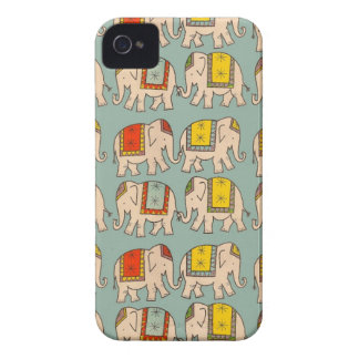 Good luck circus elephants cute elephant pattern Case-Mate iPhone 4 cases