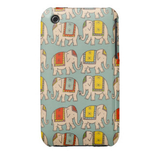 Good luck circus elephants cute elephant pattern iPhone 3 case