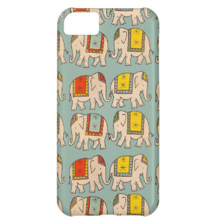 Good luck circus elephants cute elephant pattern iPhone 5C case