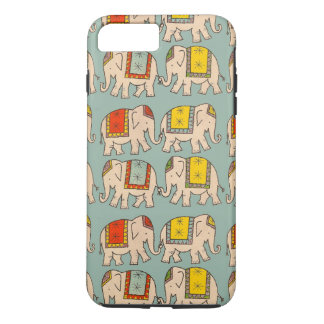 Good luck circus elephants cute elephant pattern iPhone 7 plus case