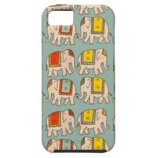 Good luck circus elephants cute elephant pattern tough iPhone 5 case
