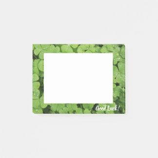 Good luck clover shamrock nature post-it notes