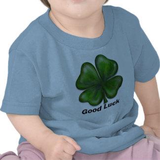Good Luck Clover Tee Shirt